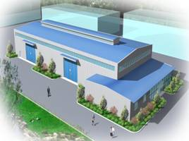 Design services act container 3d building drawing